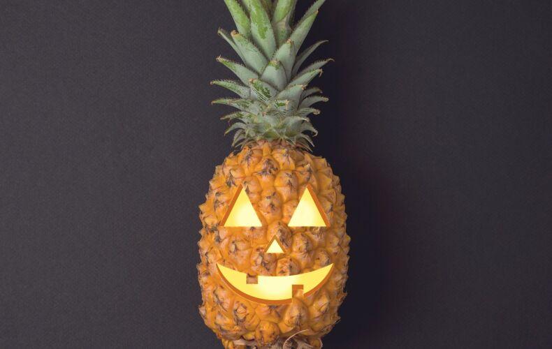 Ananas Intagliato Halloween