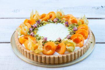 Ricetta Crostata Di Albicocche E Crema