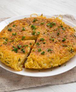 Ricetta Frittata Di Pasta Senza Uova