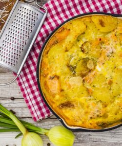 Ricetta Frittata Di Patate E Salmone