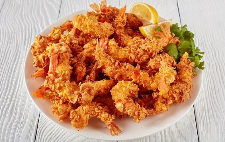 Ricetta Gamberi Impanati Con Corn Flakes