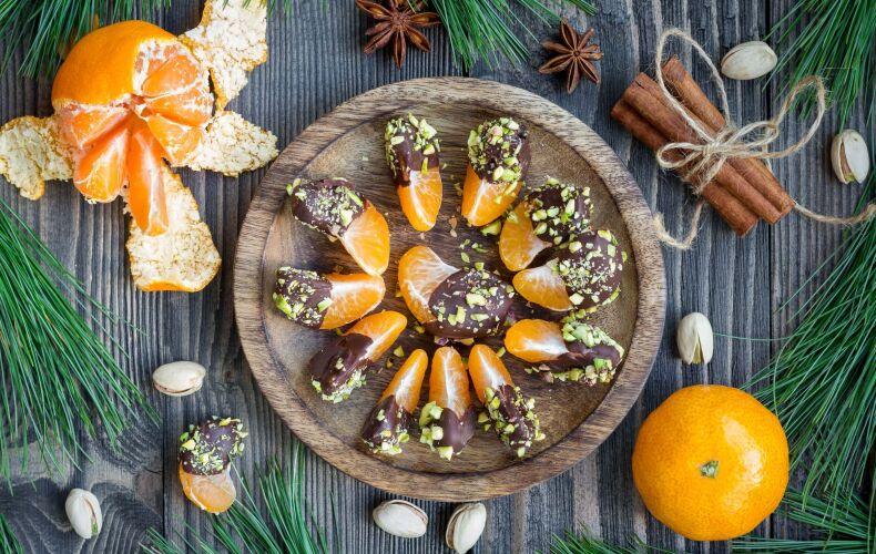Ricetta Mandarini Al Cioccolato