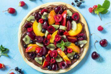 Ricetta Pizza Dolce Alla Nutella E Frutta