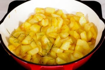 Ricetta Salsiccia E Patate Preparazione 10