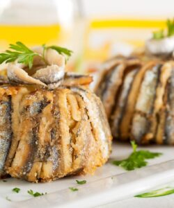 Ricetta Tortino Di Acciughe E Patate