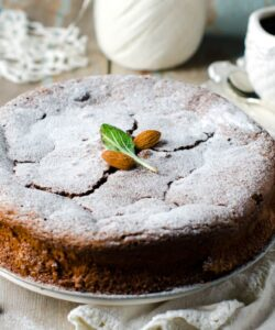 Ricetta Torta Cioccolato E Mandorle