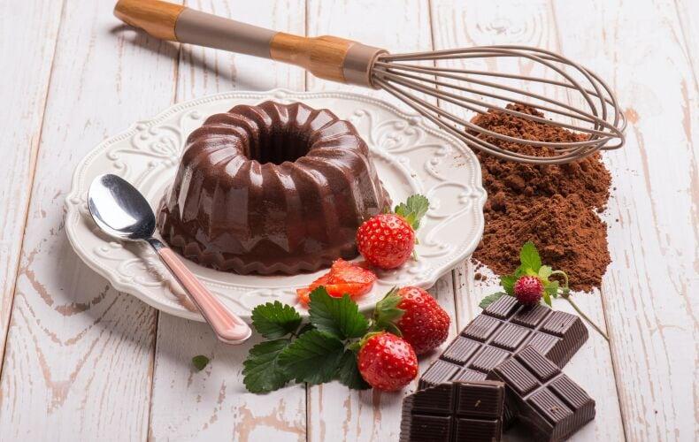 Ricetta Budino Al Cioccolato Fatto In Casa