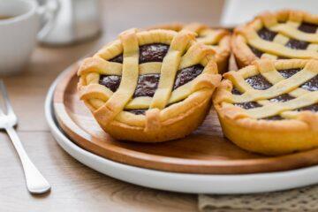 Ricetta Crostatine Al Cioccolato Fondente