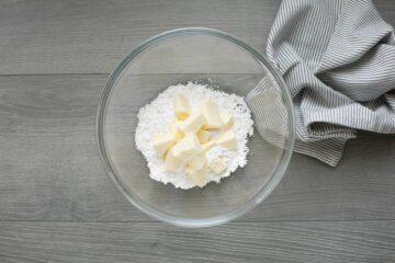 Ricetta Crostatine Al Cioccolato Fondente Step 1