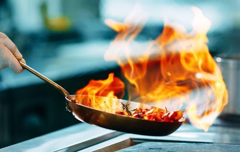 Cucinare Flambe