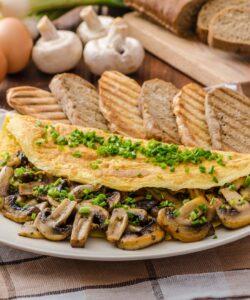 Ricetta Omelette Ai Funghi
