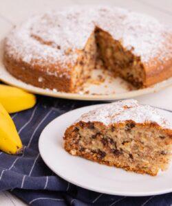 Ricetta Torta Alle Banane E Gocce Di Cioccolata