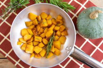 Ricetta Zucca In Padella
