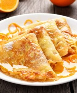 Ricetta Crepe Suzette
