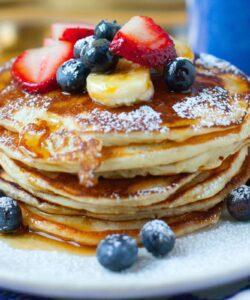 Ricetta Pancake Senza Uova