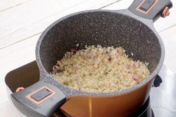 Ricetta Risotto Asparagi Robiola Preparazione 7