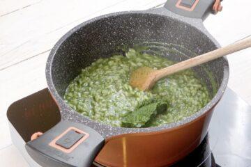 Ricetta Risotto Asparagi Robiola Preparazione 9