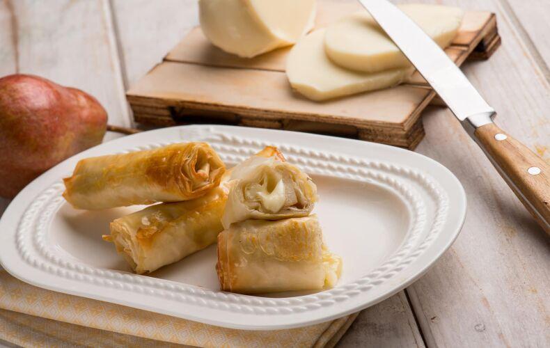 Ricetta Involtini Di Pasta Fillo Con Pere E Formaggio
