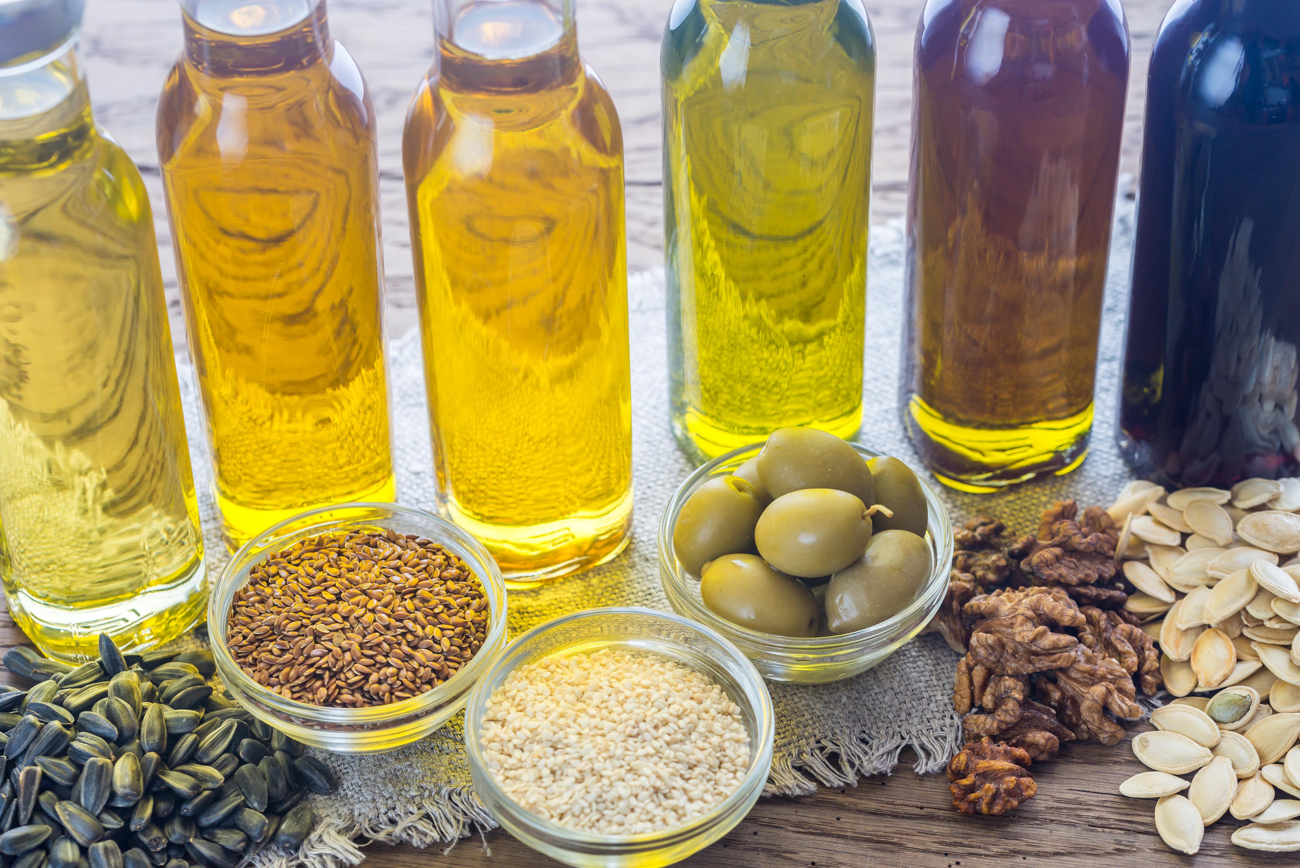 Tipi Di Olio Da Cucina In Bottiglia