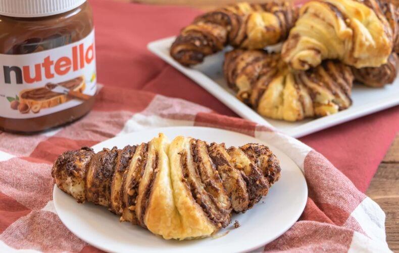 Ricetta Brioches Velocissime Alla Nutella