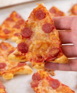 Ricetta Pizzette Alberelli Di Natale