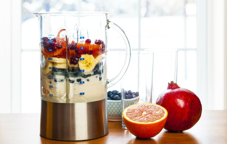 Preparazione Frullato Frutta
