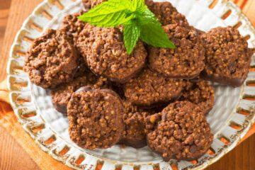 Ricetta Biscotti Vegani Alla Quinoa E Cioccolato