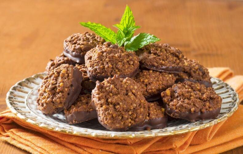 Ricetta Biscotti Vegani Quinoa E Cioccolato