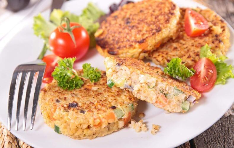 Ricetta Burger Vegetali Di Quinoa E Verdure