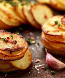 Ricetta Chips Di Patate Croccanti Al Parmigiano