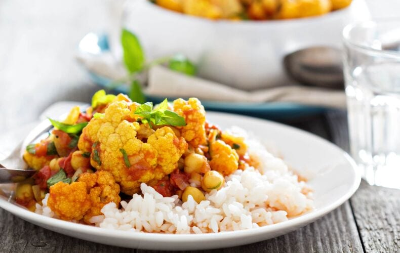 Ricetta Curry Vegetale Cavolfiore E Verdure