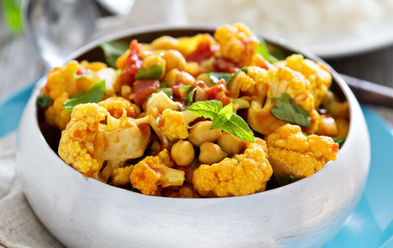 Ricetta Curry Vegetale Con Cavolfiore E Verdure