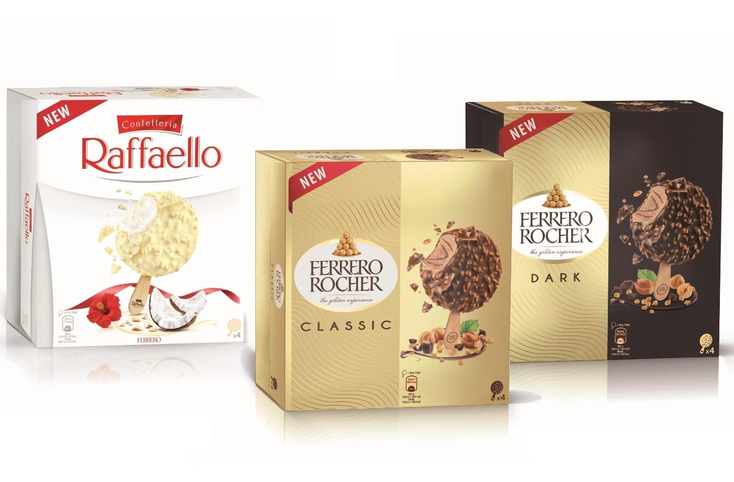 Gelati Ferrero 2021