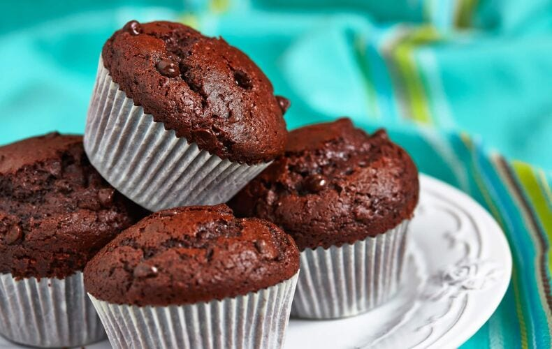 Ricetta Muffin Alla Banana Mandorle E Cacao
