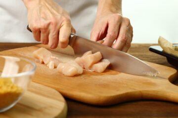 Ricetta Nuggets Di Pollo Ai Corn Flakes Al Forno 1