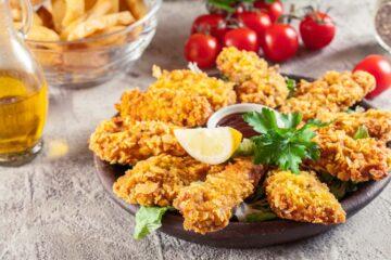Ricetta Nuggets Di Pollo Ai Corn Flakes Al Forno 8