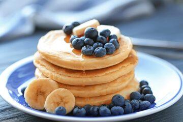 Ricetta Pancake Albumi E Avena