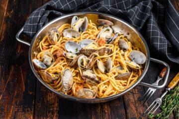 Ricetta Pasta Alle Vongole Al Pomodoro