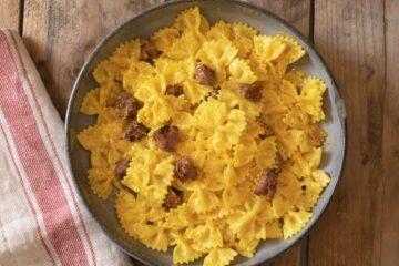 Ricetta Pasta Cremosa Zafferano E Salsiccia