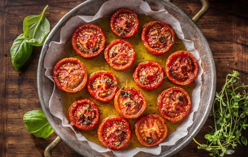 Ricetta Pomodori Arrostiti Al Forno