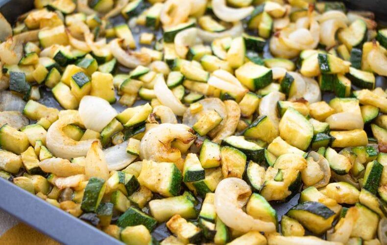 Ricetta Zucchine E Cipolle Al Forno