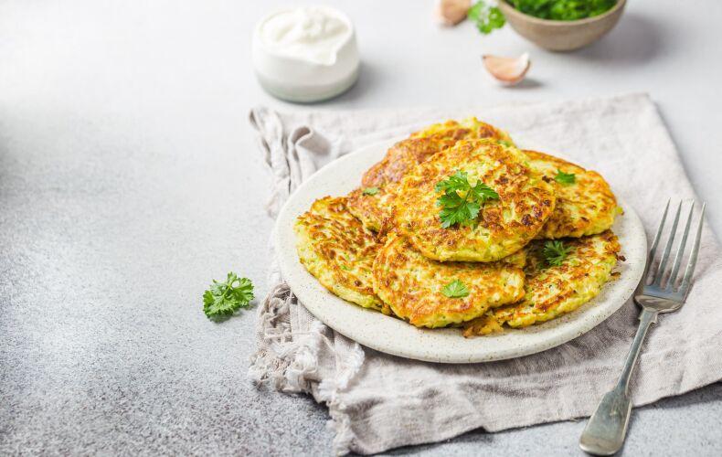 Ricetta Frittelle Proteiche Salate 2