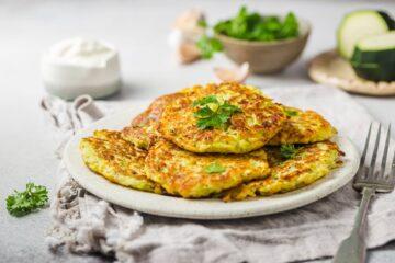 Ricetta Frittelle Proteiche Salate