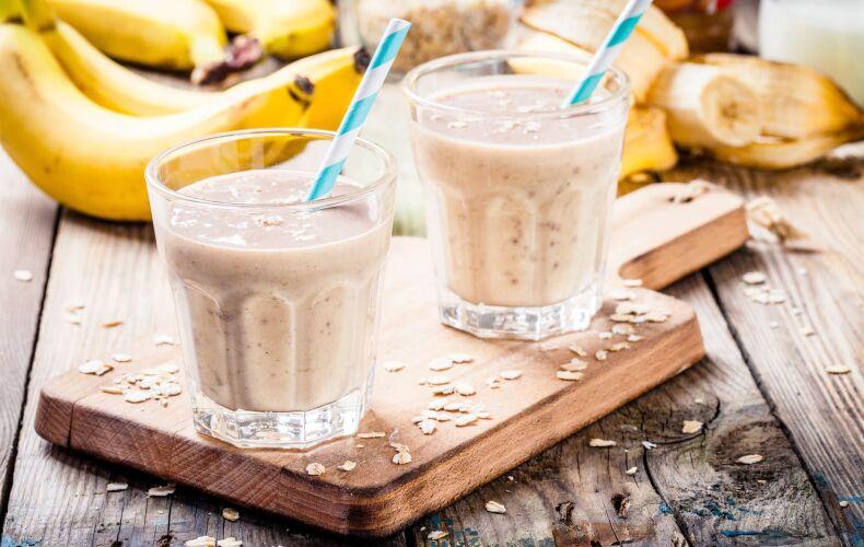 Ricetta Frullato Proteico Banana E Mandorle 2