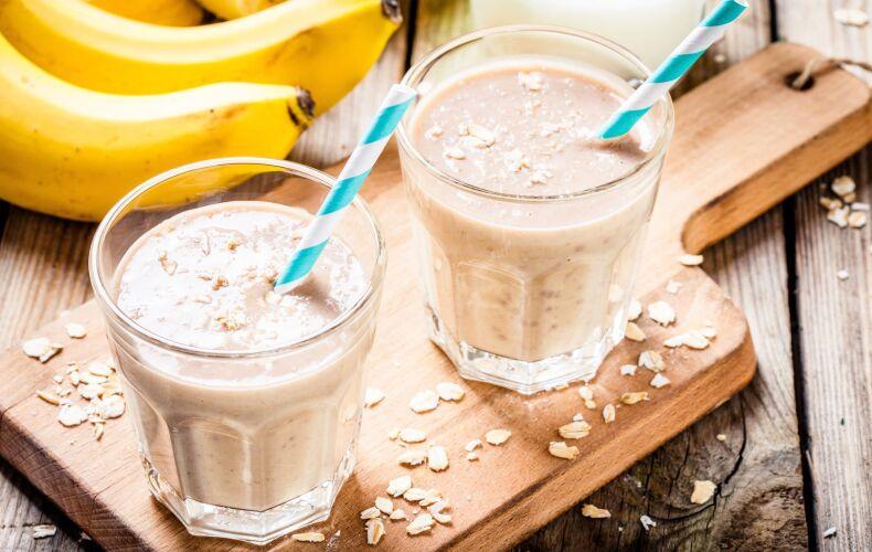 Ricetta Frullato Proteico Banana E Mandorle