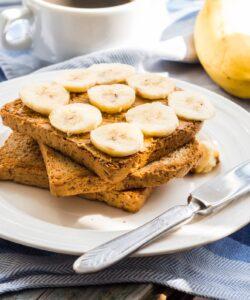 Ricetta Toast Al Burro Di Arachidi E Banane