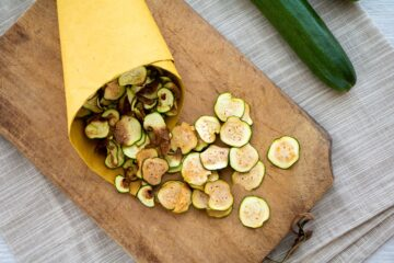 Ricetta Chips Di Zucchine Al Forno 7