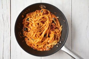 Ricetta Pasta Alla Crema Di Tonno Step 4