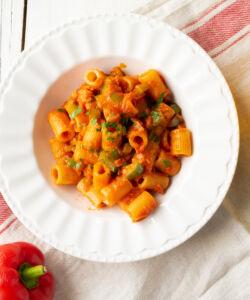 Ricetta Pasta Peperoni E Tonno