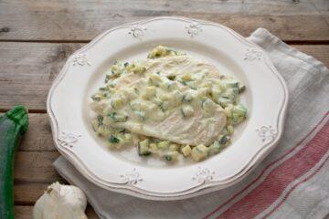 Ricetta Petto Di Pollo Alle Zucchine Robiola